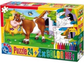 1076861261 detske puzzle d toys color 24 dilku zviratka 1[1]