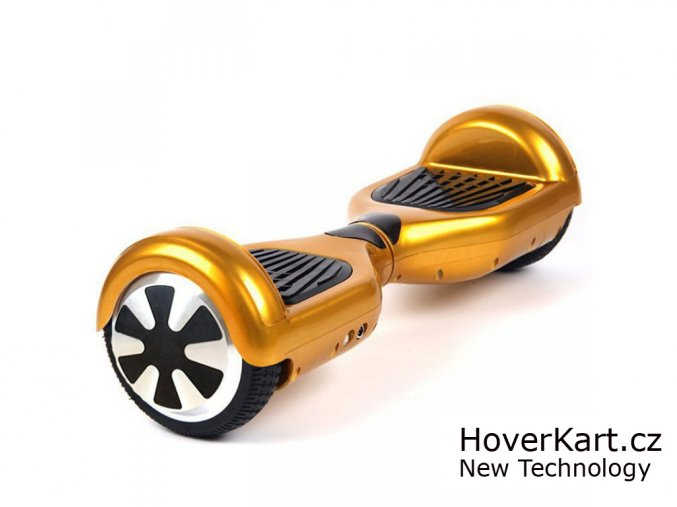 Actionbikes Mini hoverboard Chrome zlatá