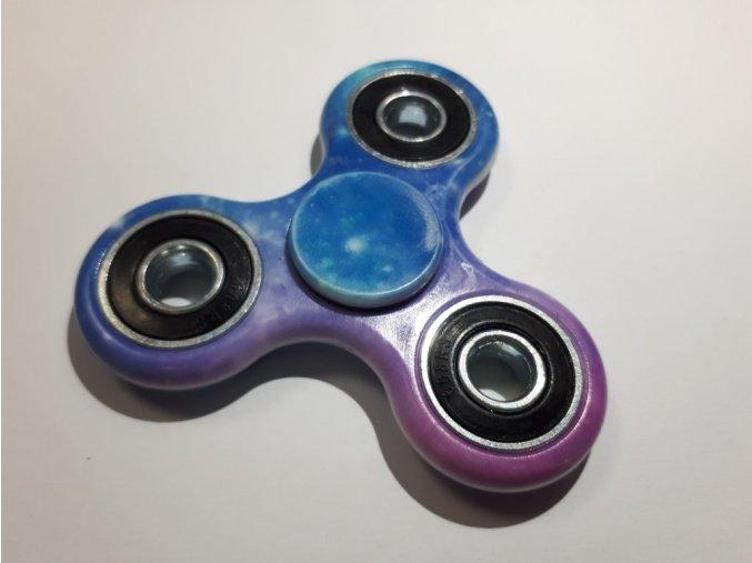 fidget spinner modro růžový