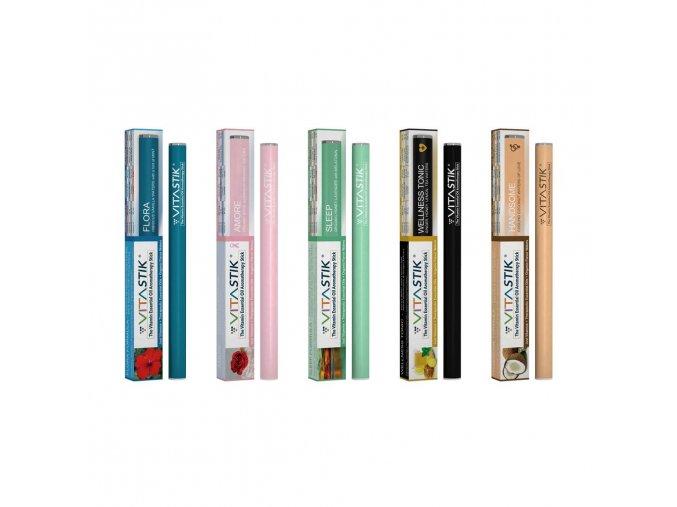 Vitamínová cigareta Vitastik SET 5 kusů NEW VERSION (vitamínový vaporizér)