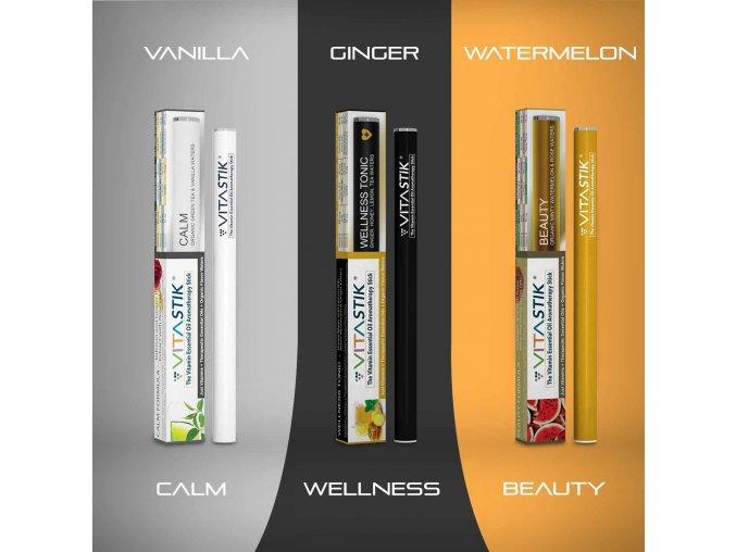 Vitamínový vaporizér Vitastik SET LOOKING SEXY 3 kusy
