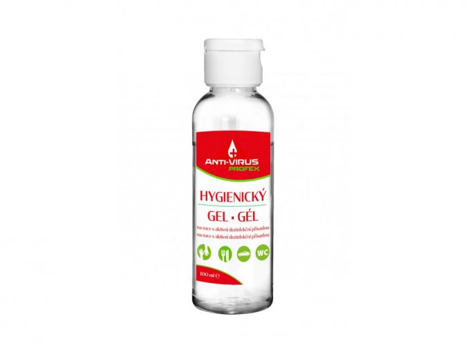 PROFEX Anti VIRUS hygienický gel na ruce 100 ml