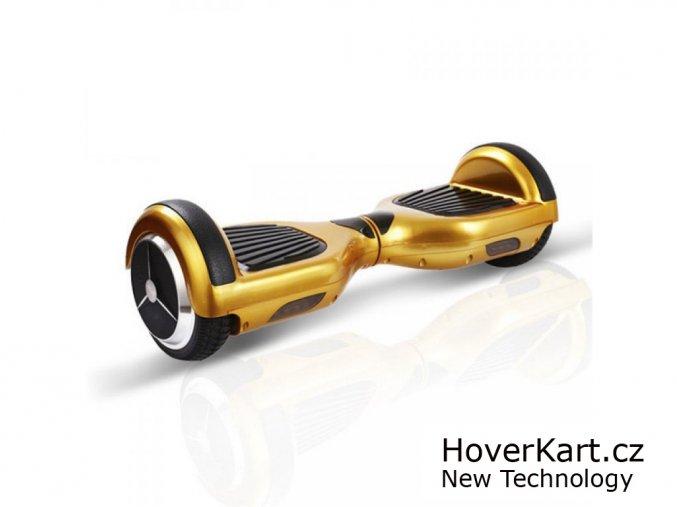 Hoverboard Standard zlatý chrom