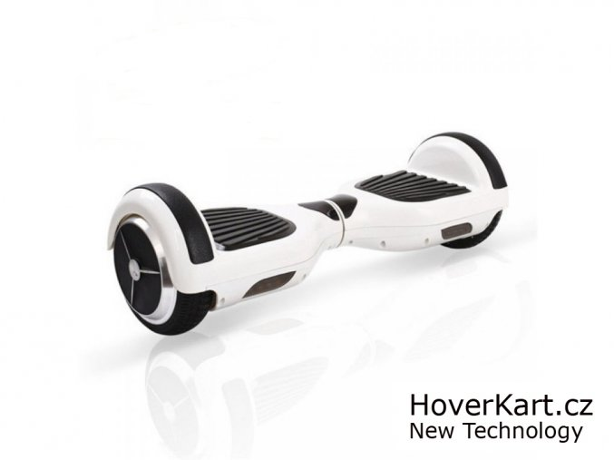 Hoverboard SMART kola 6.5 palce AKU Samsung! - bílý