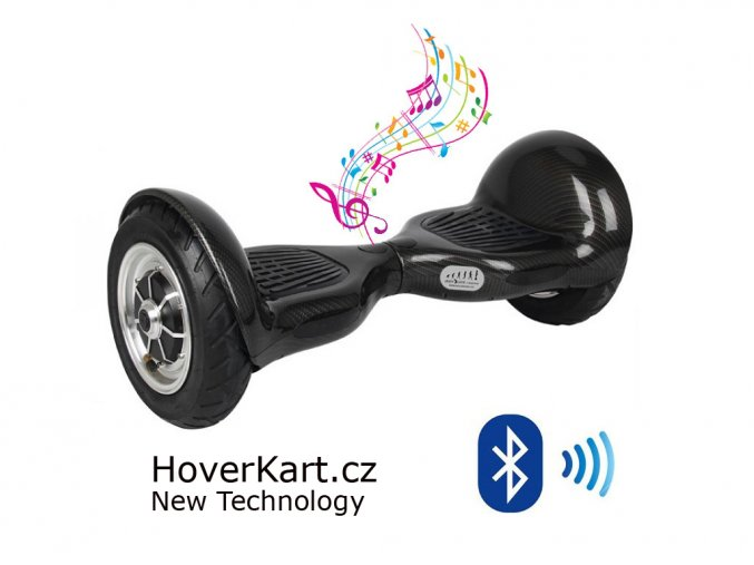 Hoverboard Offroad černá Bluetooth