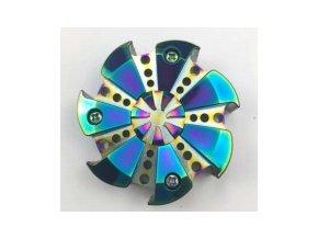 Fidget Spinner Rainbow Circular