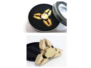 Fidget spinner Crab zlatý