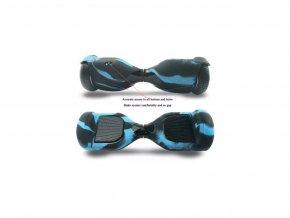 Návlek pro hoverboard černo modrý