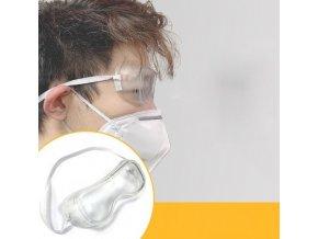 Ochranné brýle vyrobené z pvc FFP1, FFP2