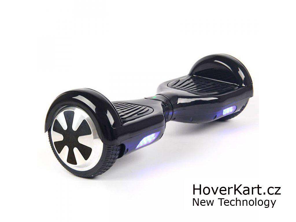 Actionbikes Mini hoverboard Standard Černá + BT reproduktor a ovladač