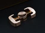 Fidget Spinner leštěná mosaz 2 / finger spinner