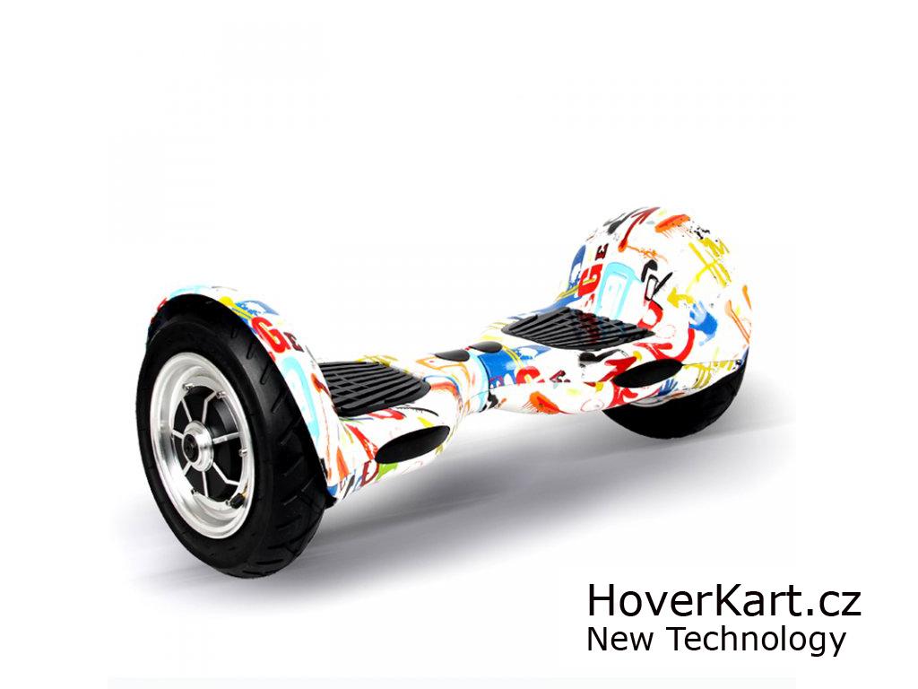 "Hoverboard Arašid 10"", scrawl"