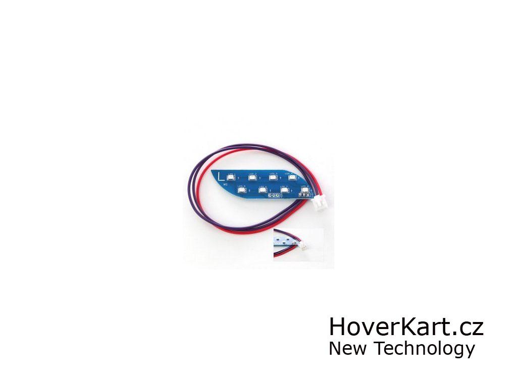 LED světlo pro hoverboard levé