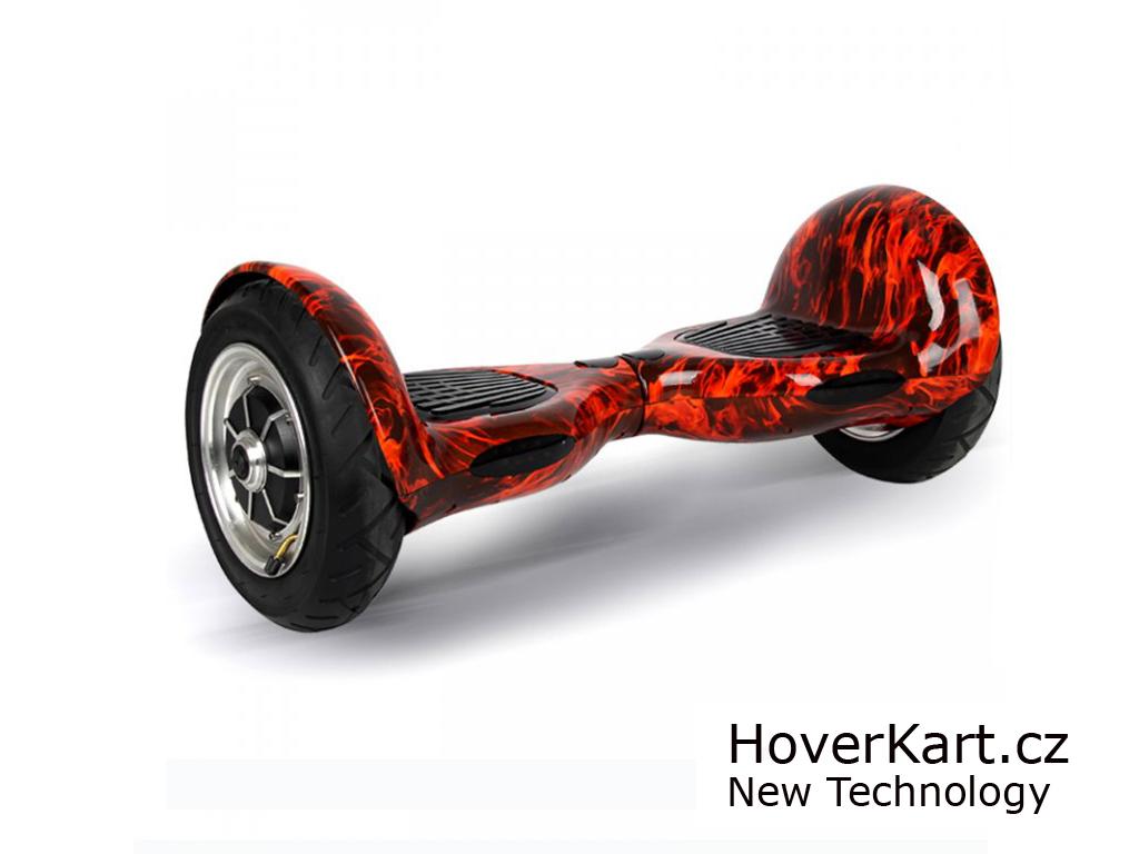 """Hoverboard Arašid 10"""", flame"""