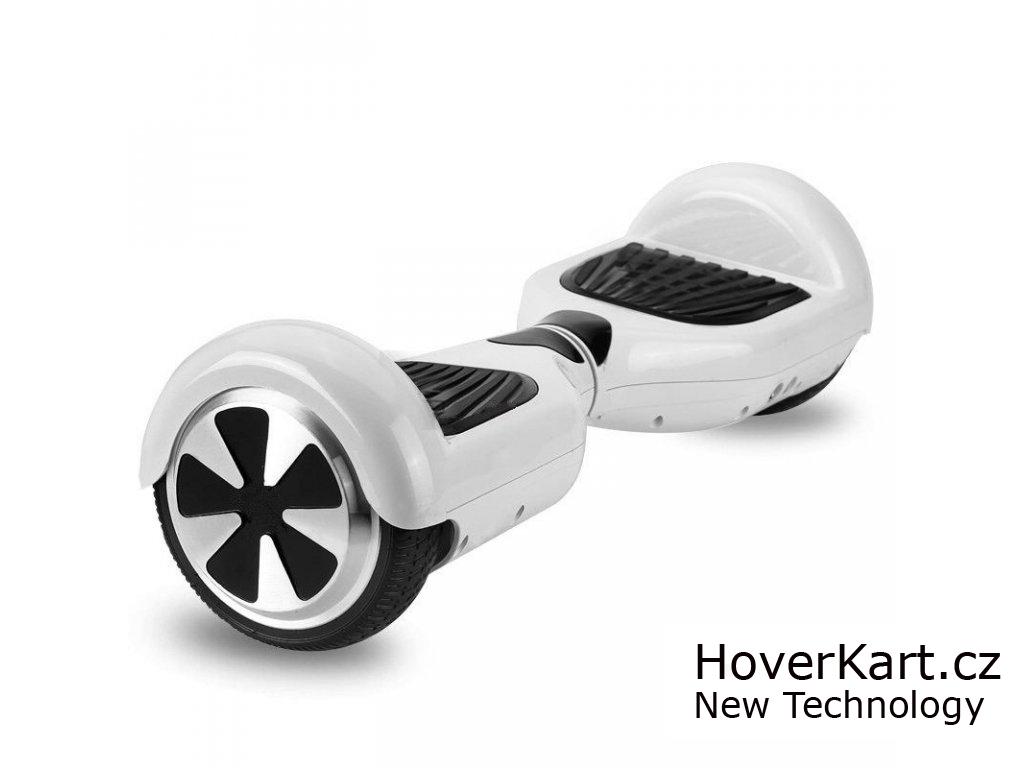 Hoverboard Standard bílý s bluetooth reproduktorem