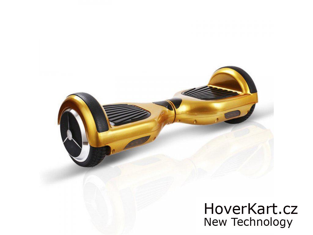"""Hoverboard mini WHEEL-E WH01 6.5"""" zlatý"""