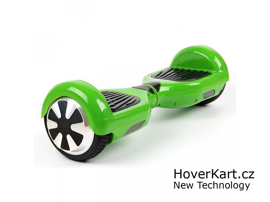 hoverboard Standard zelený
