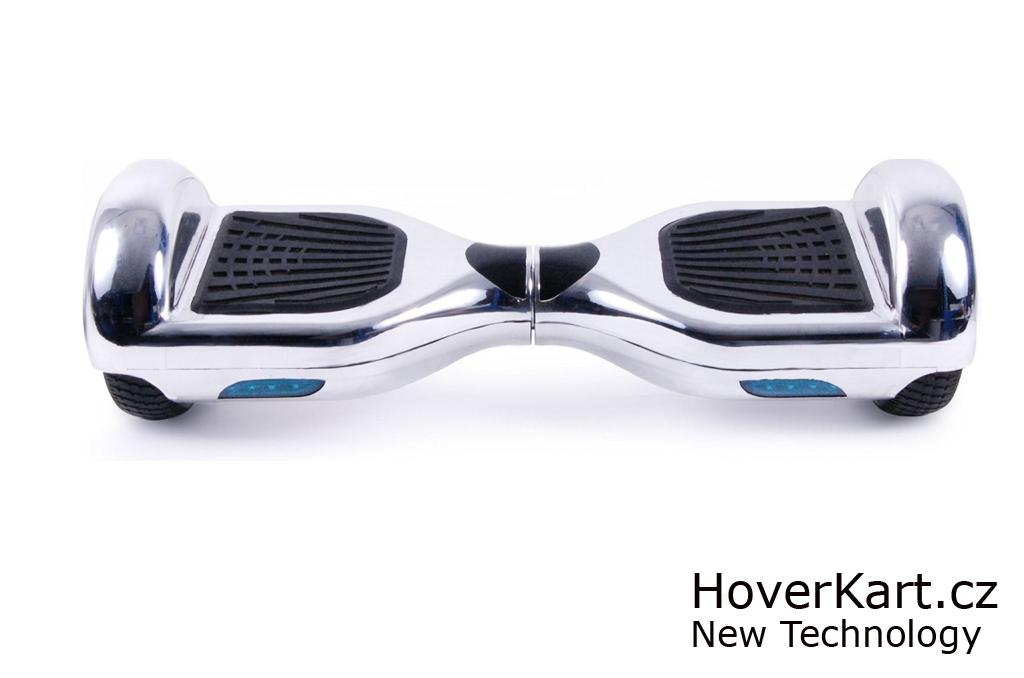 Hoverboard Standard stříbrná chrom