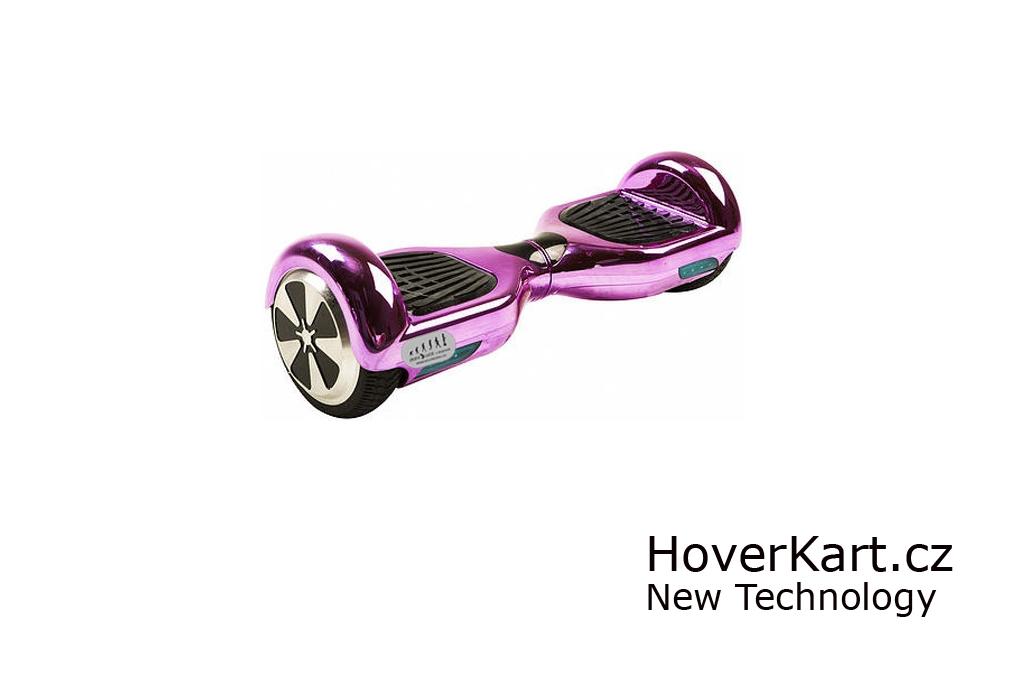 Hoverboard Standard kovově růžový