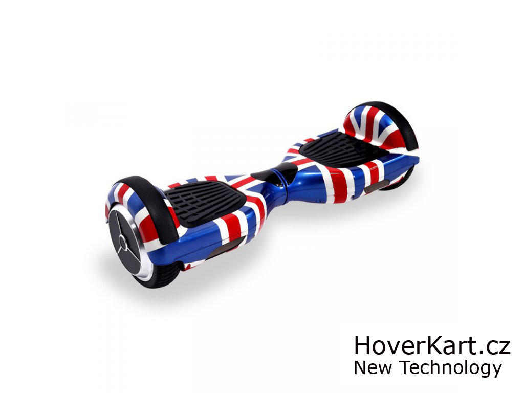 """Hoverboard Q3 7"""" Anglie"""