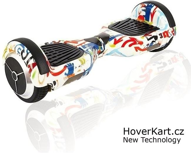 """Hoverboard Q3 7"""" Graffiti 1"""