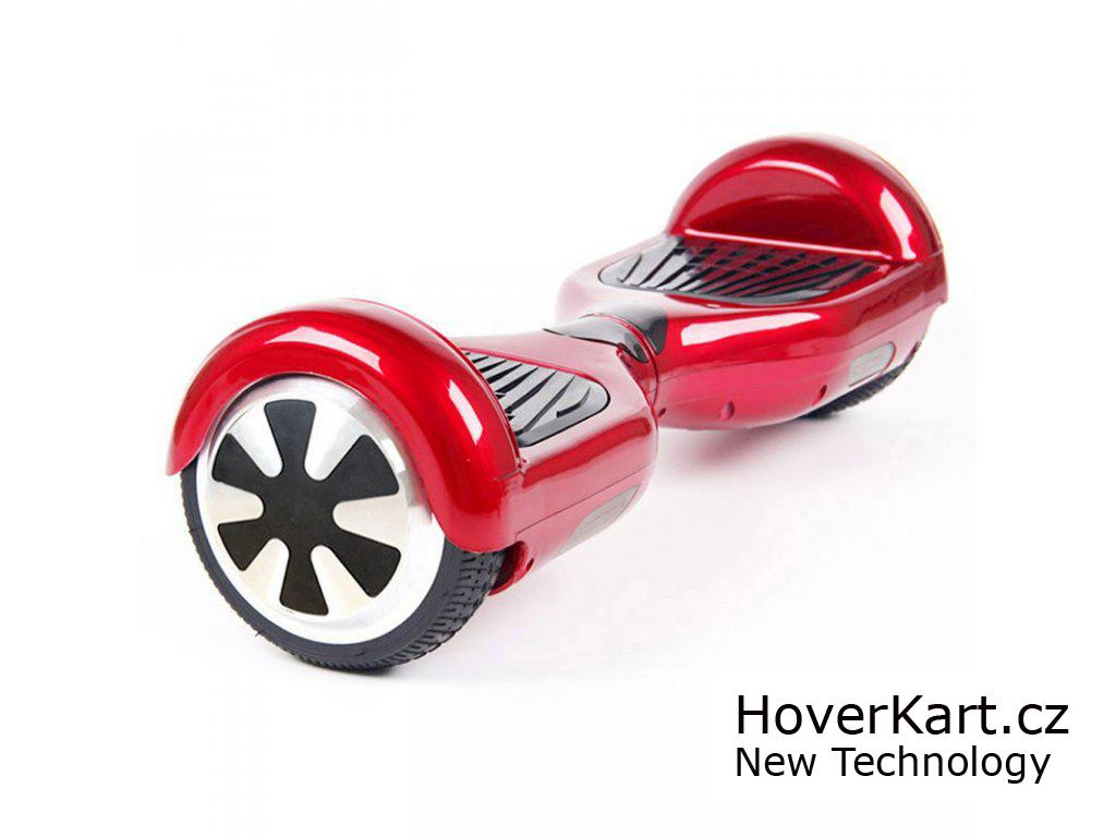 Actionbikes Mini hoverboard Standard Červená + BT reproduktor a ovladač