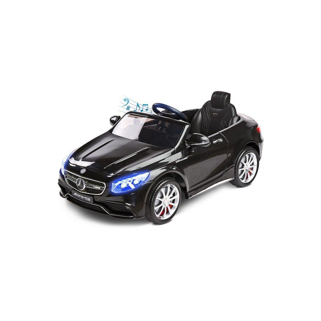 elektricke auticko mercedes S63 AMG-Benz cierne