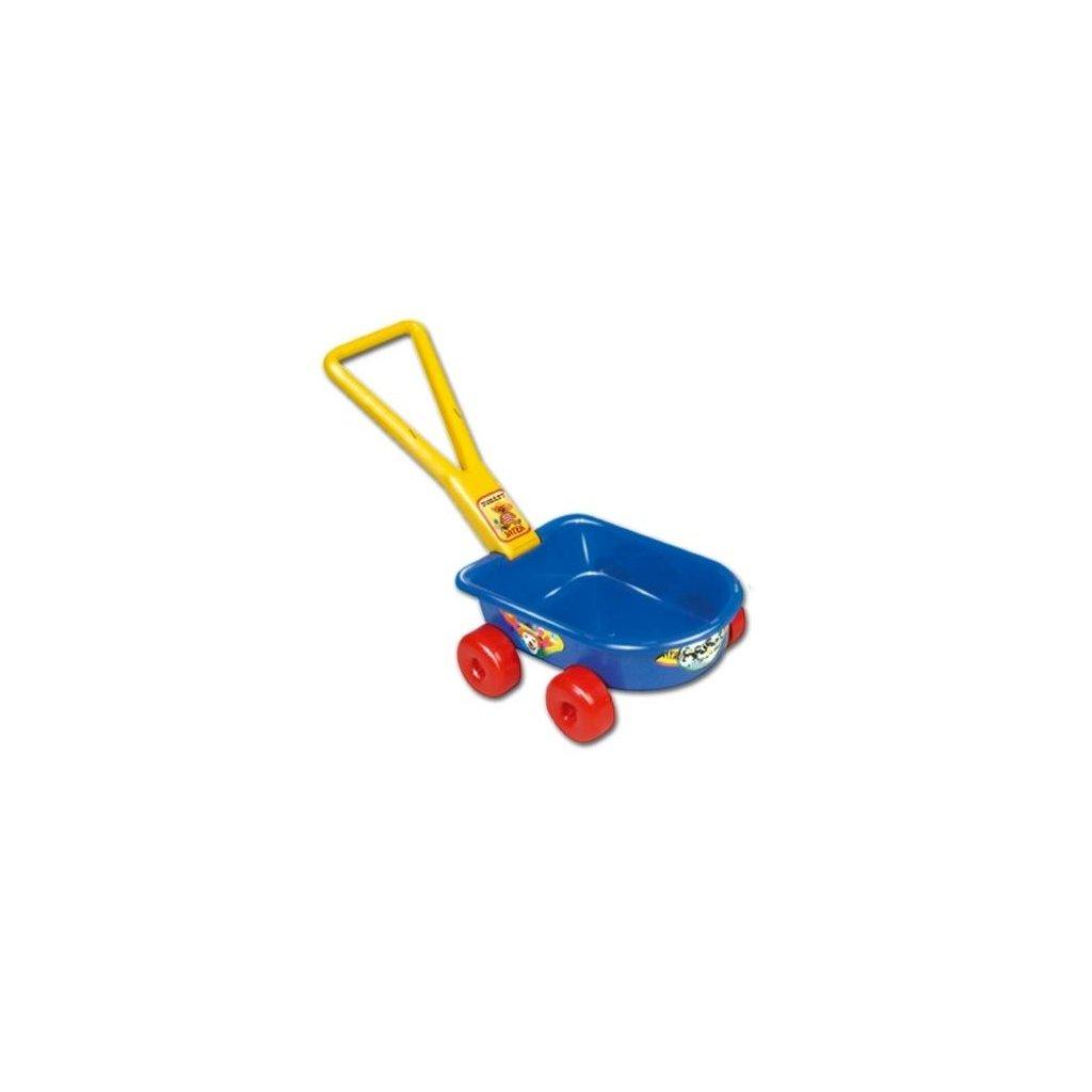 Detsky vozik modry