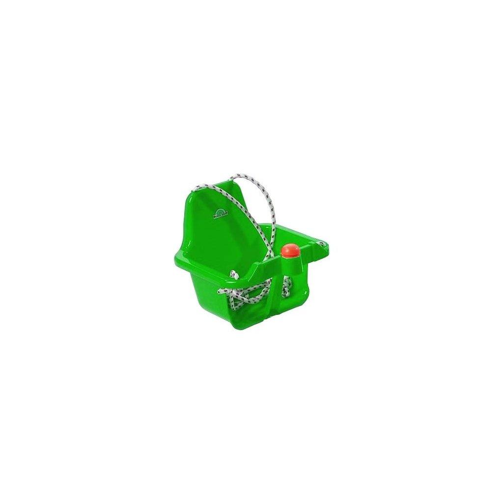 Hojdacka s piskatkom zelena