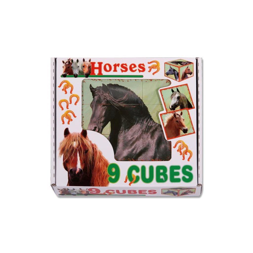 Skladacie obrazkove kocky Horses