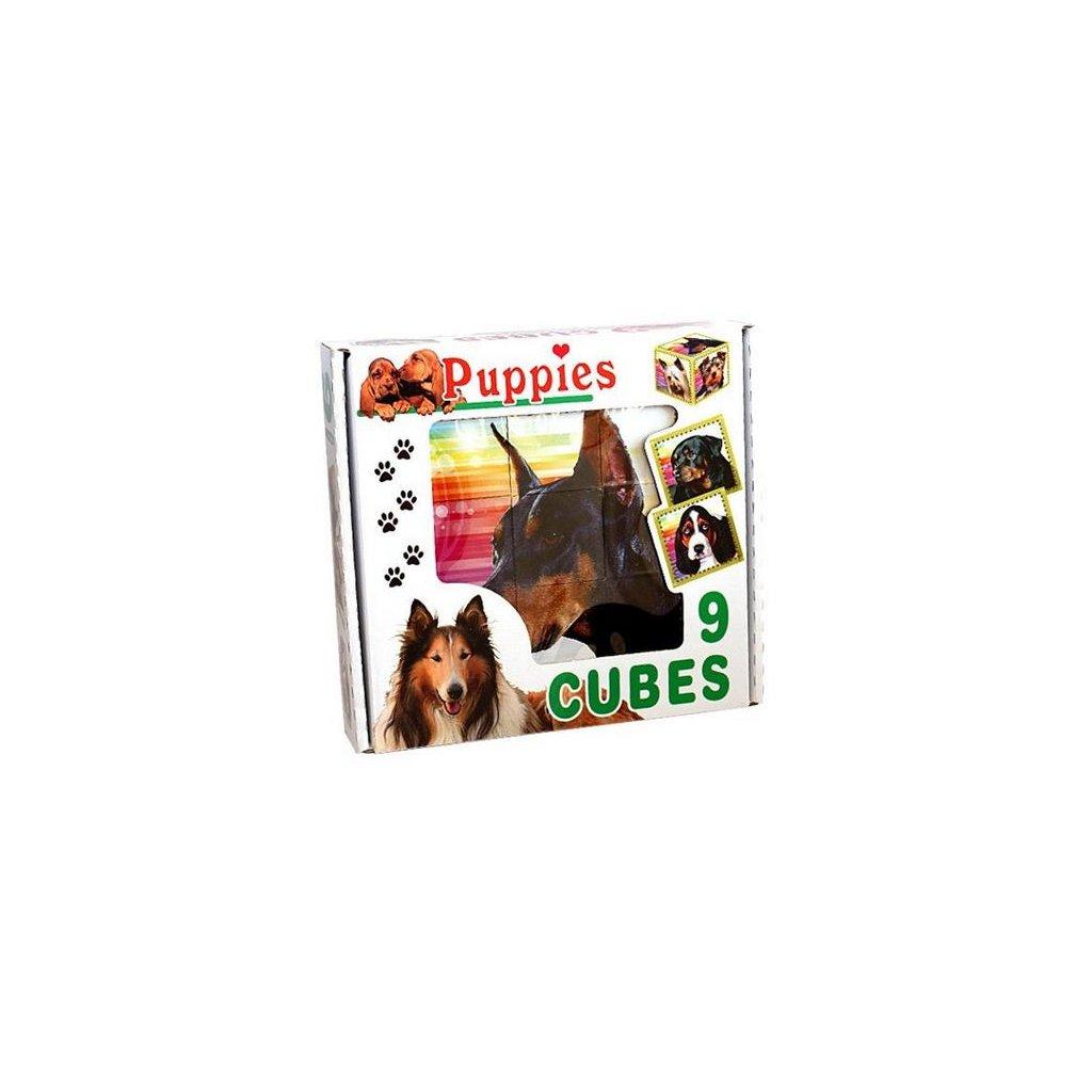 Skladacie obrazkove kocky Puppies