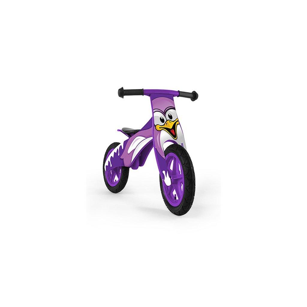 detske odrazadlo bicykel fialove