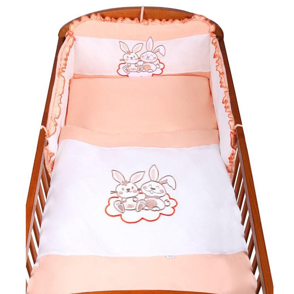 3-dielne postelne obliecky newbaby 100x135