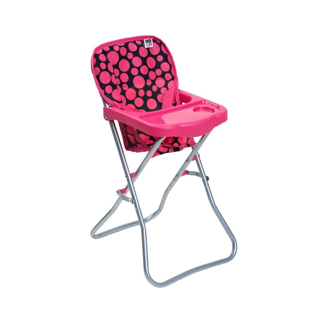 jedalenska stolicka pre babiky playto dorotka ruzova