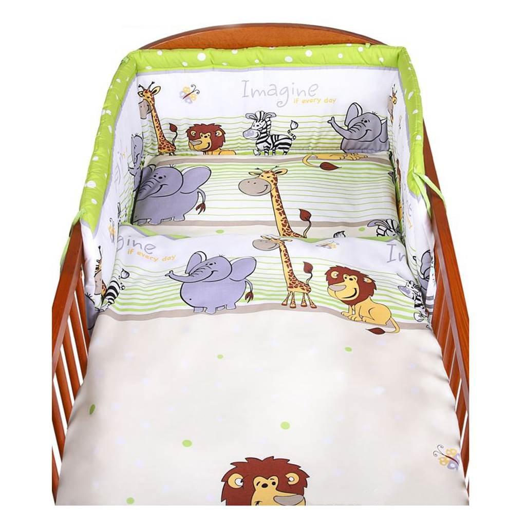 3-dielne postelne obliecky newbaby 90x120
