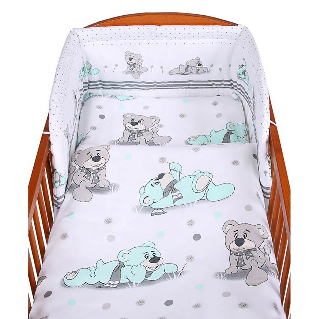 3-dielne postelne obliecky 100x135