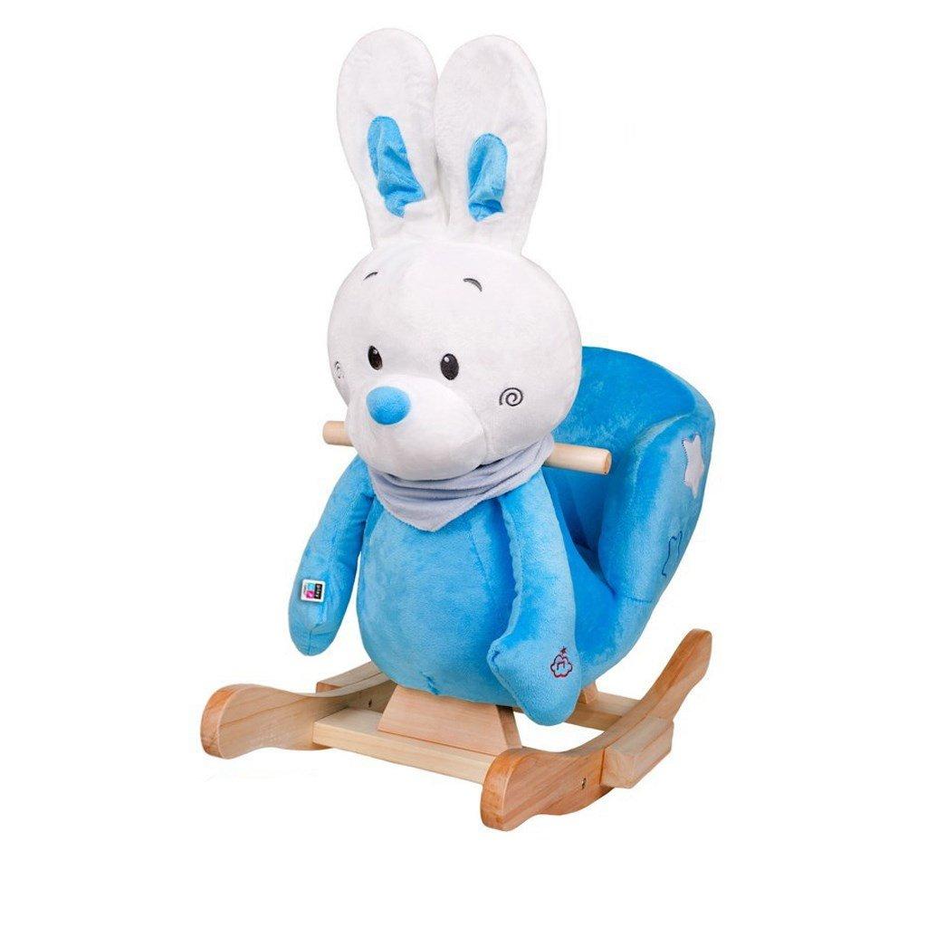 Hojdacia hracka s melodiou PlayTo zajacik modry