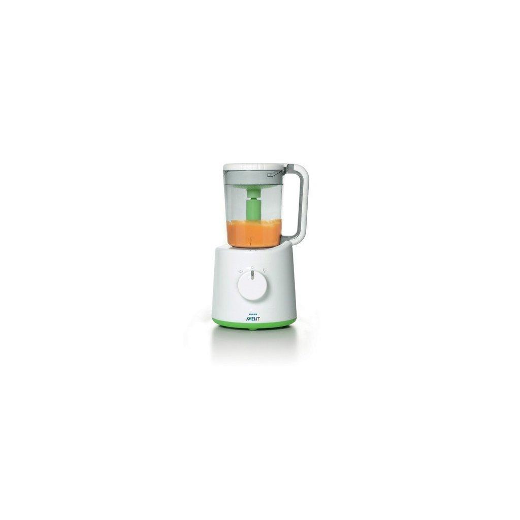 parný hrniec s mixérom Philips Avent zelený