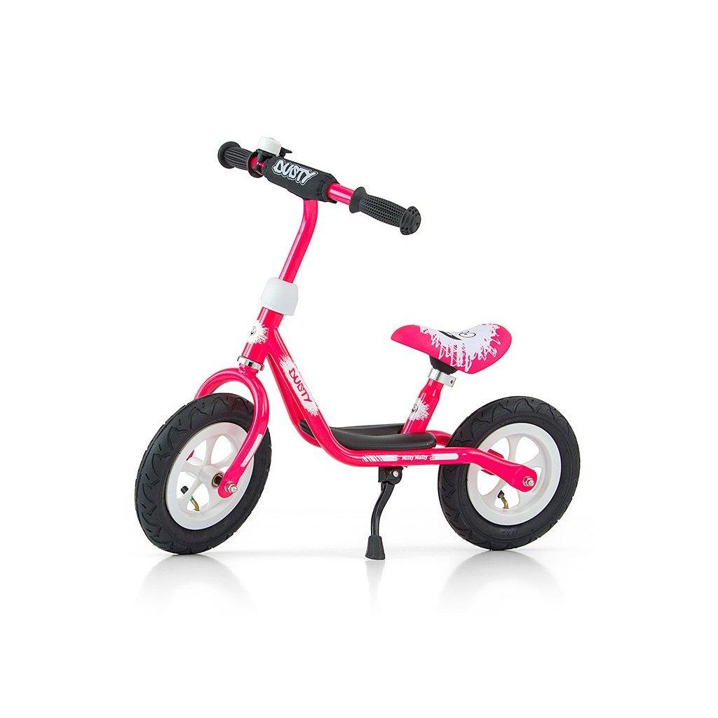 detske odrazadlo bicykel ruzove
