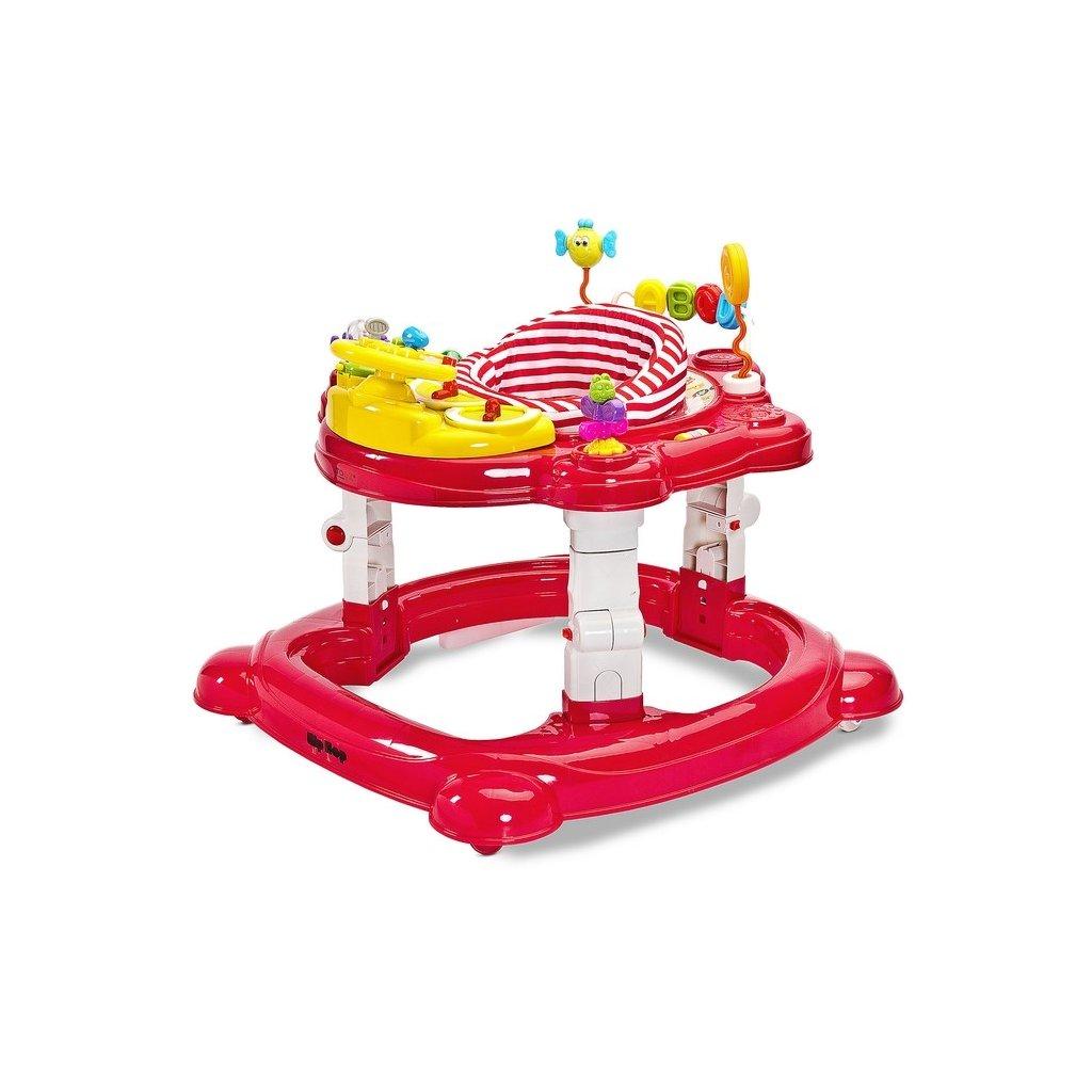 Detske choditko Toyz HipHop 3v1 cervene