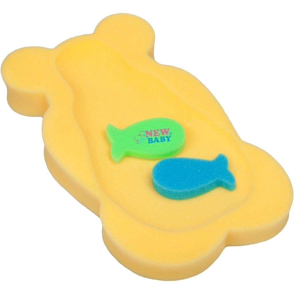 Penová podložka maxi New Baby žltý medveď