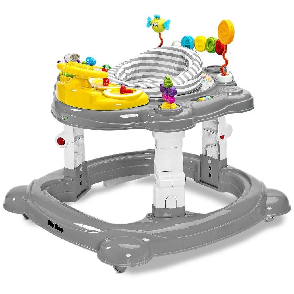 Detske choditko Toyz HipHop 3v1 sive