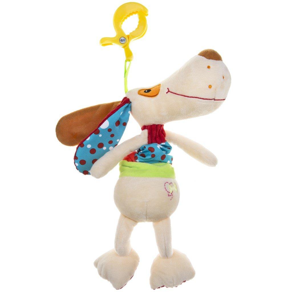 Plyšová hračka s hracím strojčekom psíček