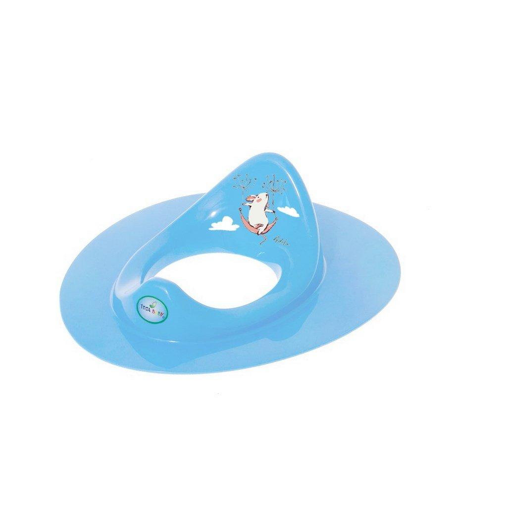 Detské sedátko na WC myška modré