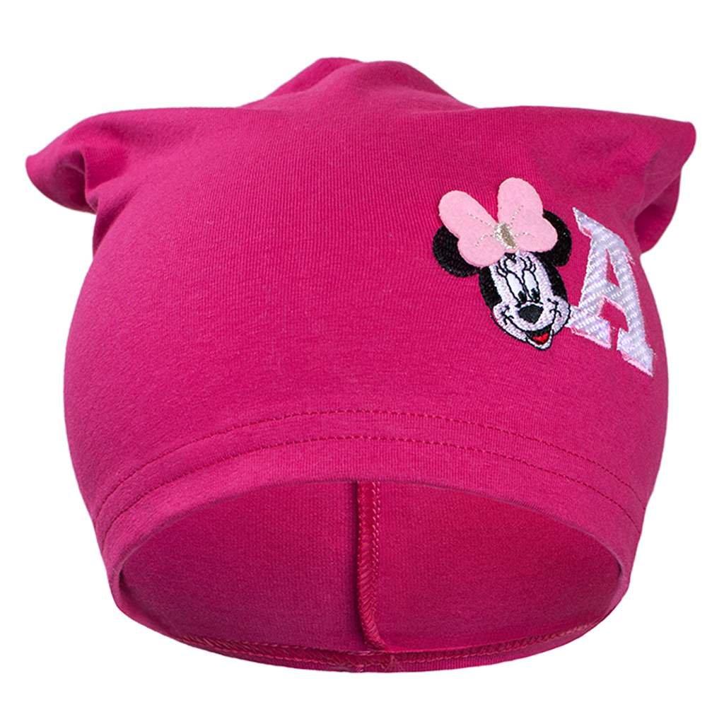 Jesenná detská čiapočka New Baby Minnie ružová