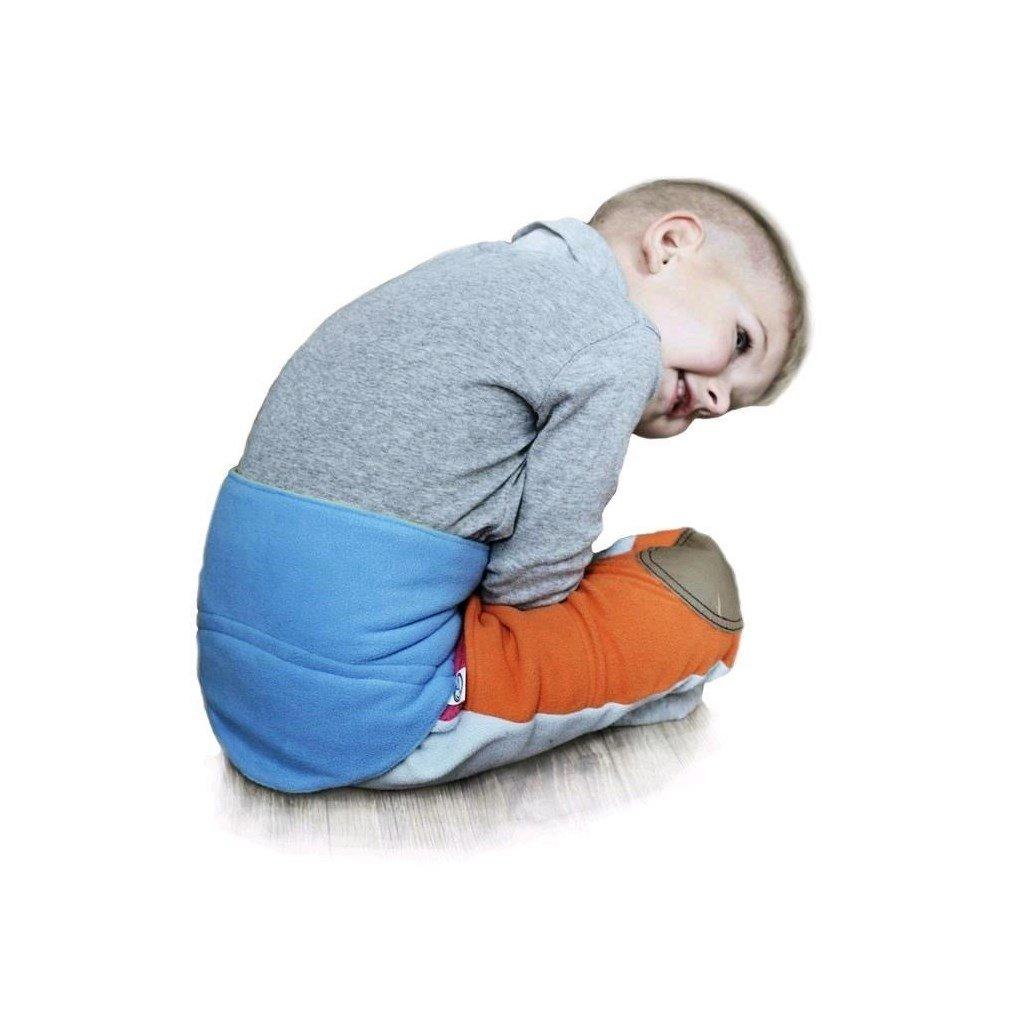 Detský bederňák 5-11 rokov VG antracitovo-malinový