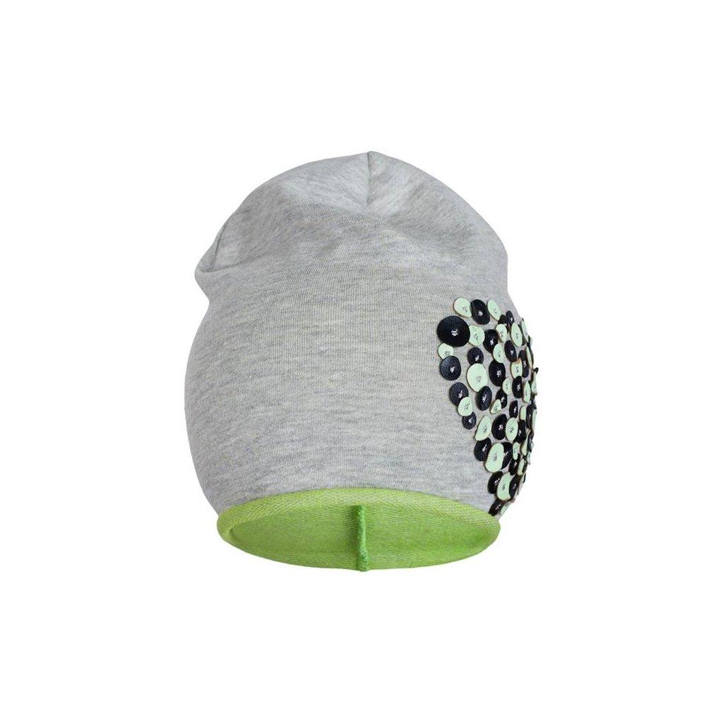 Jarná čiapočka New Baby srdiečko