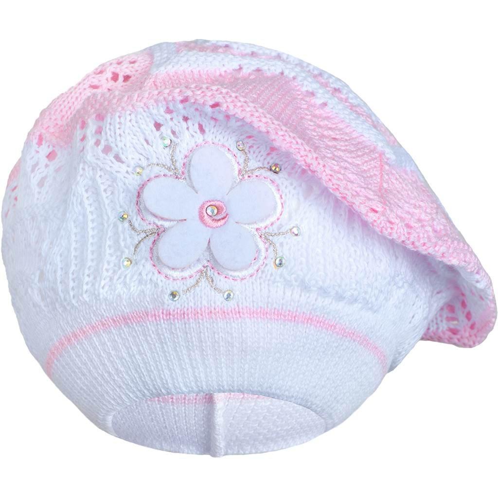 Pletená čiapočka-baret New Baby