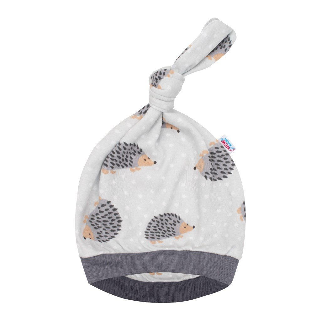 Dojčenská čiapočka New Baby Ježko