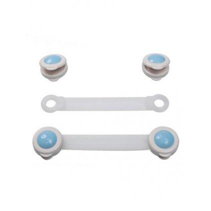 Poistky na šuplíky a chladničky Baby Ono 2ks - biele 953/1